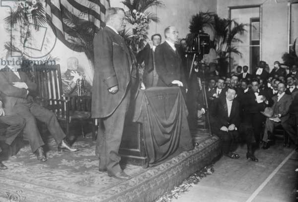 President Theodore Roosevelt at the Y.M.C.A. in Rio, 1913