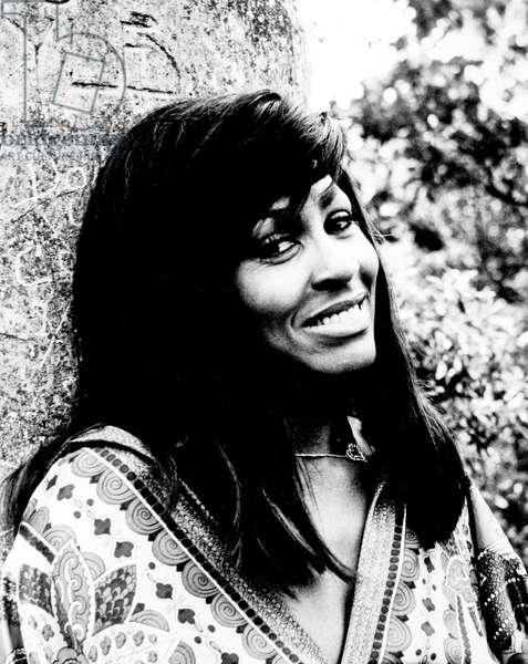 Tina Turner, 70S (b/w photo)
