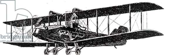 A Biplane used by Imperial Airways