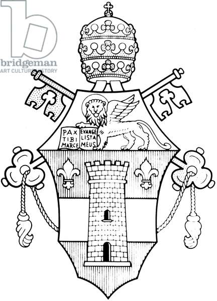 Pope John XXIII's coat of arms, it