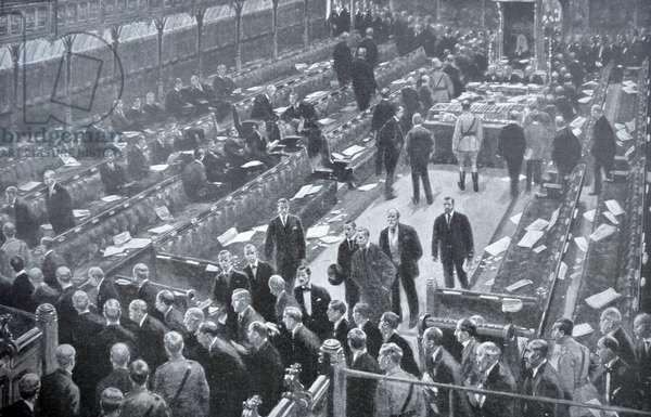 British parliament passes the Military service Bill, 1916