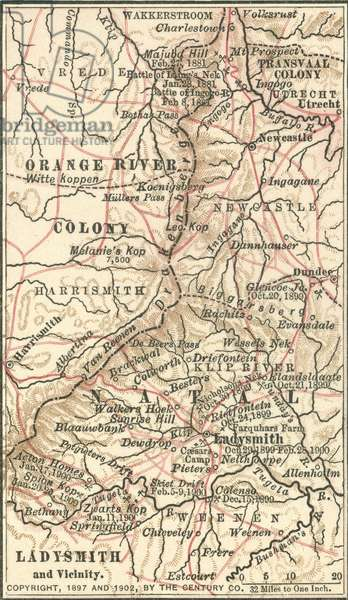 Map of Ladysmith