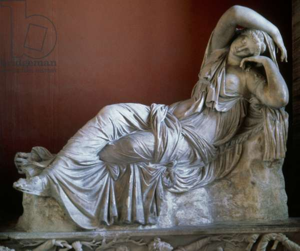 The sleeping Ariadne, long called Cleopatra