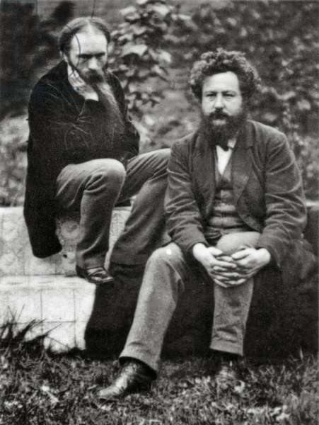 Edward Burne Jones and William Morris