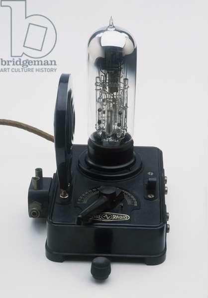 Model of vacuum tube developed by Siegmund Loewe, 1920s