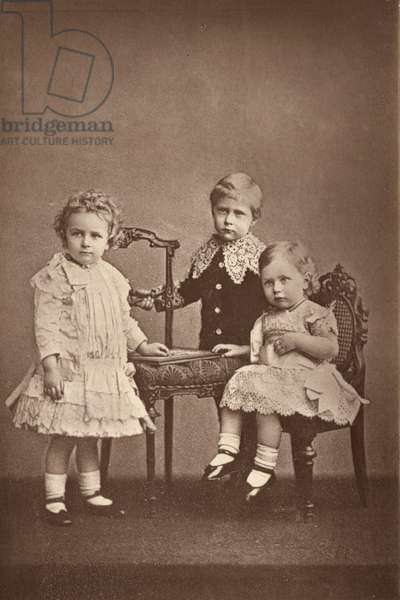 Wilhelm II and brothers