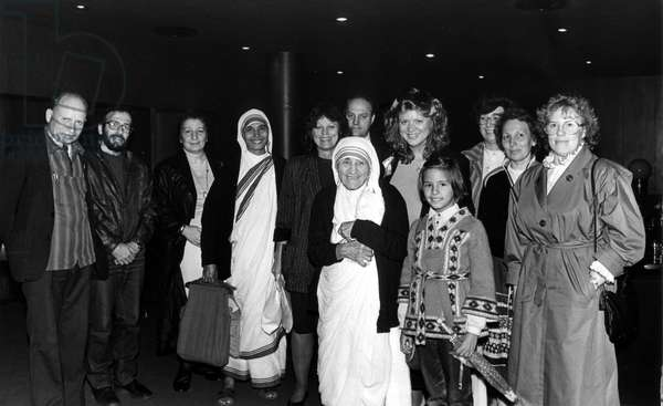 Moscow, USSR, 8/87: Mother Teresa, Founder of the Order of Misericordia, Nobel Prize Winner, Visits St. Daniel'S Orthodox Monastery, in Moscow.