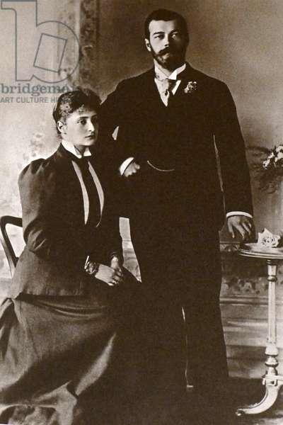 Tsar Nicholas II and Empress Alexandra of Russia approx