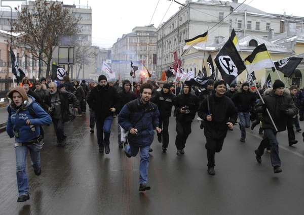 The Dissenters' March In Moscow : The Dissenters' March in Moscow, Russia, 26/11/11 ©ITAR-TASS/UIG/Leemage
