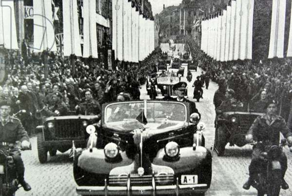 King Haakon of Norway, 1945