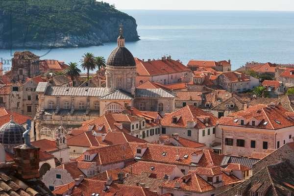 Dubrovnik from the City Walls, Dubrovnik-Neretva, Croatia (photo)
