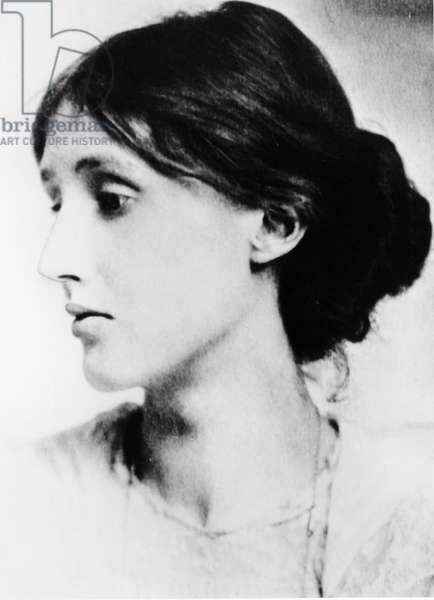 Virginia Woolf (born Stephen - 1882-1941). English novelist, essayist and critic. Photograph