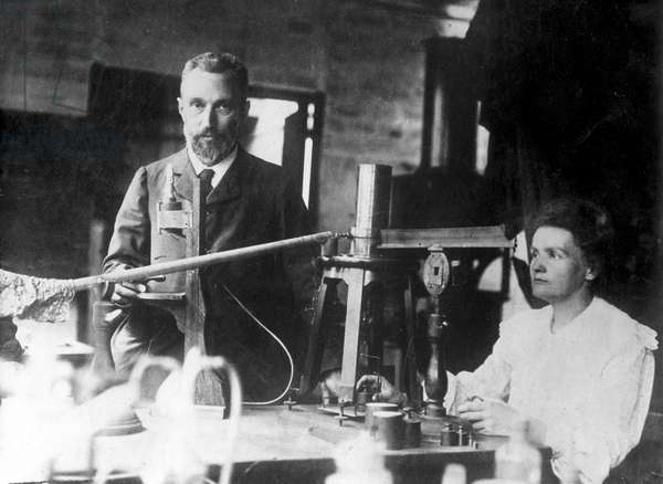 Pierre and Marie Curie, 1905