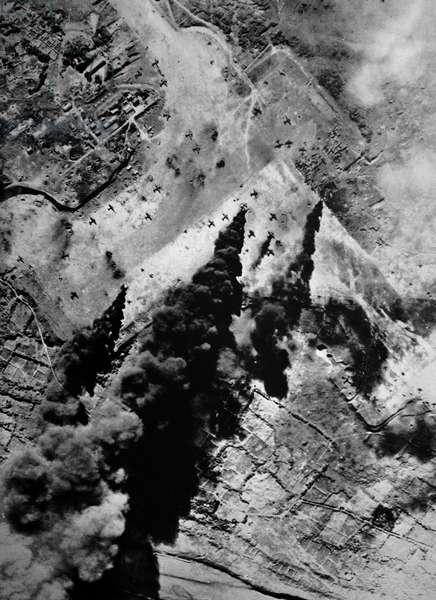Pre-Invasion Bombing