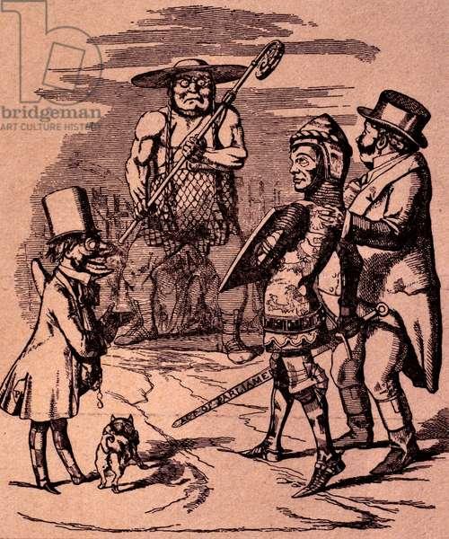 Cartoon from Punch by Sir John Tenniel, 1851