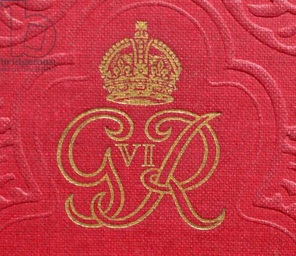 Commorative book to mark the corination of King George VI, 1937