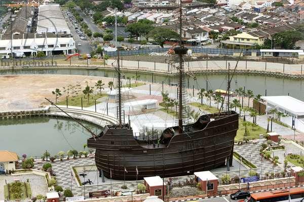 Replica of Flor de la Mar, Maritime Museum (photo)