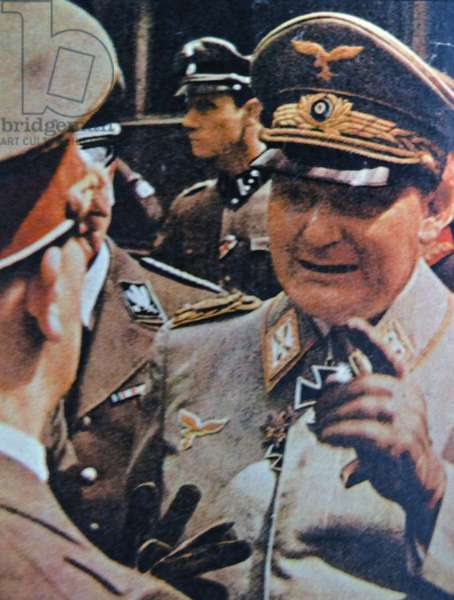 Hermann  Göring (or Goering) 1893 – 1946) German politician, military leader, and leading member of the Nazi Party
