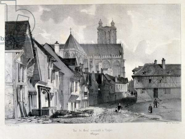 Cathedral at Troyes, in France