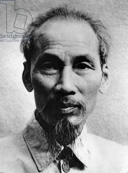 President Ho Chi Minh of the Democratic Republic of Vietnam, 1954.