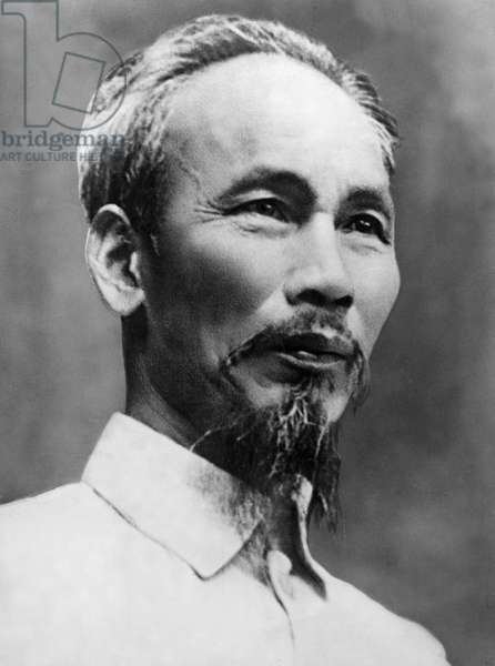 President Ho Chi Minh of the Democratic Republic of Vietnam, 1950.