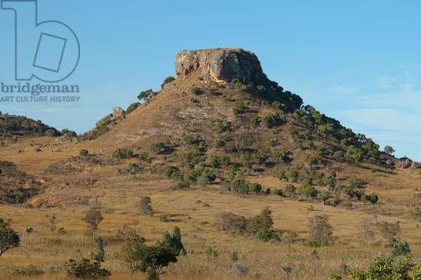 Eroded Jurassic Sandstone Massif In Isalo National Park (photo)