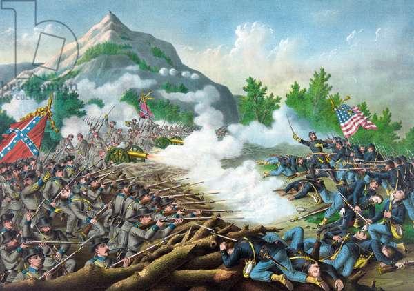 The American Civil war, 1864