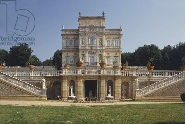 Italy, Rome, Villa Pamphilj, Casino del Bel Respiro, summer residence of Doria Pamphilj.