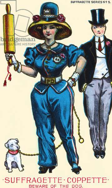 Suffragette-Coppette- Beware of the Dog