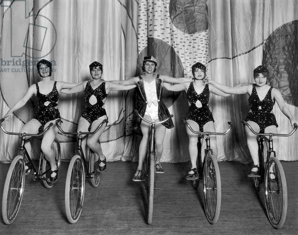 Wheels Idea' On Stage, 1929 (b/w photo)