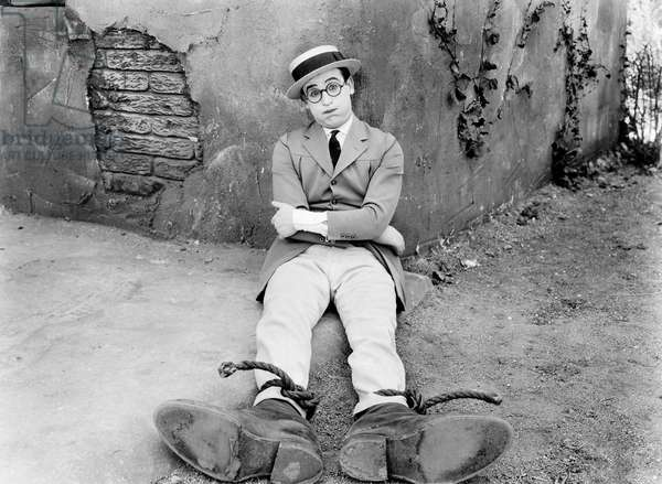 Actor Harold Lloyd (b/w photo)