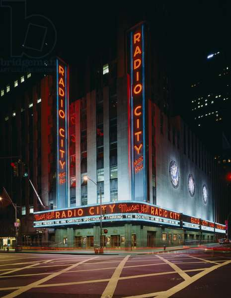 Radio City Music Hall (photo)