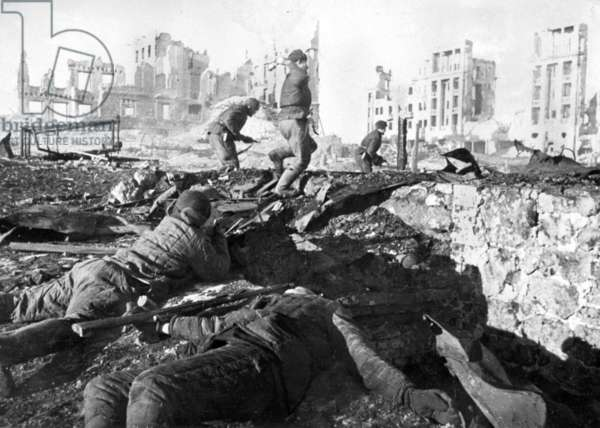 Battle of Stalingrad, November 1942.