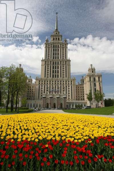 Ukraina Hotel In Moscow : Ukraina Hotel in Moscow, Russia, 16/05/11 ©ITAR-TASS/UIG/Leemage