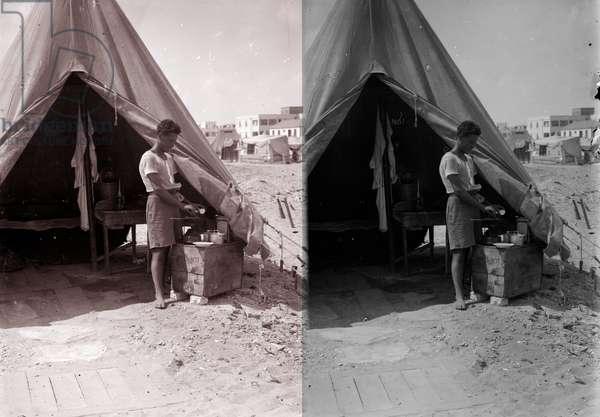 Tel Aviv Jewish Immigrants' first home in Palestine, 1938
