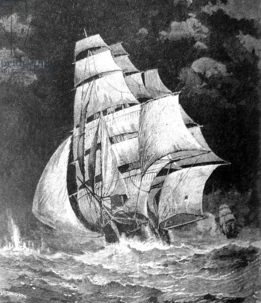 American Civil War 1864 sinking of the CSS Alabama