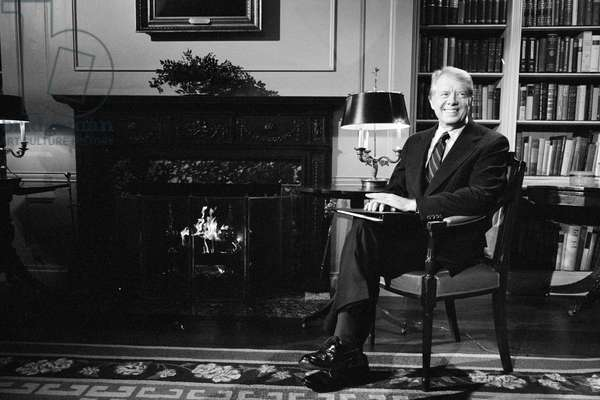 President Jimmy Carter at the White House