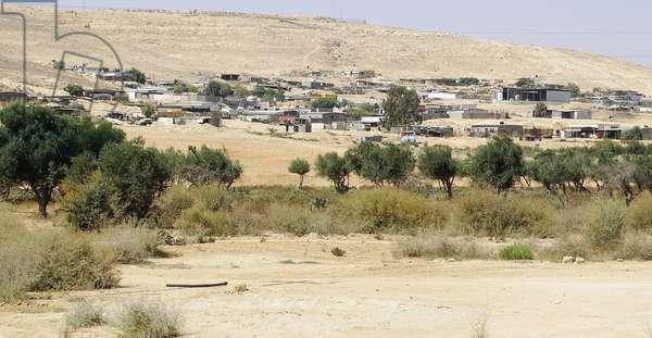 Bedouin Arab encampment, 2014