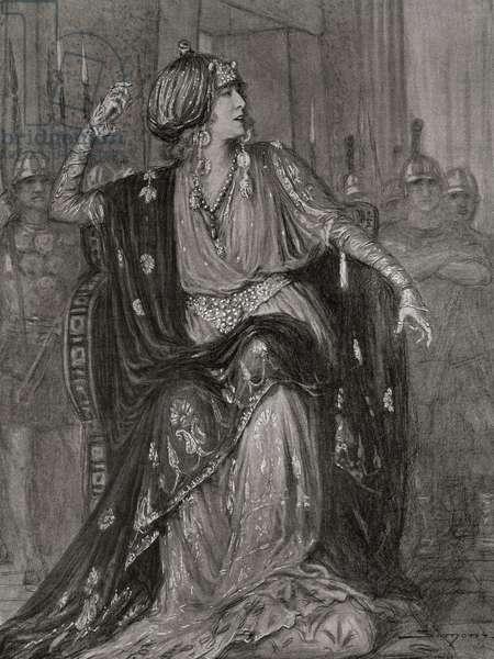 Sarah Bernhardt (Henriette-Rosine Bernard) (Paris,1844-Paris, 1923)