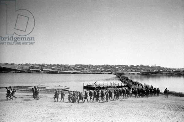 Stalingrad, September 1942, the Crossing of the Akhtuba River, Volga'S Left Branch, World War Two.