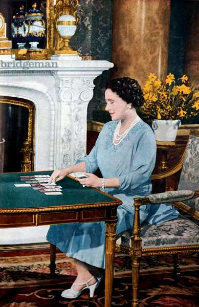 Queen Elizabeth consort to George VI (1895 - 6 February 1952)