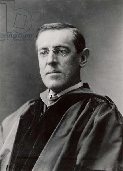Thomas Woodrow Wilson ((1856-1924)