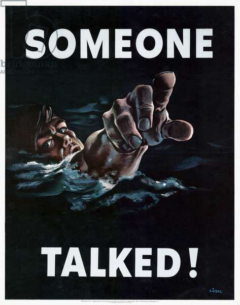 Propaganda Poster from WWII