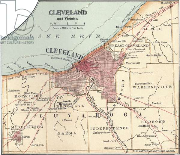 Map of Cleveland
