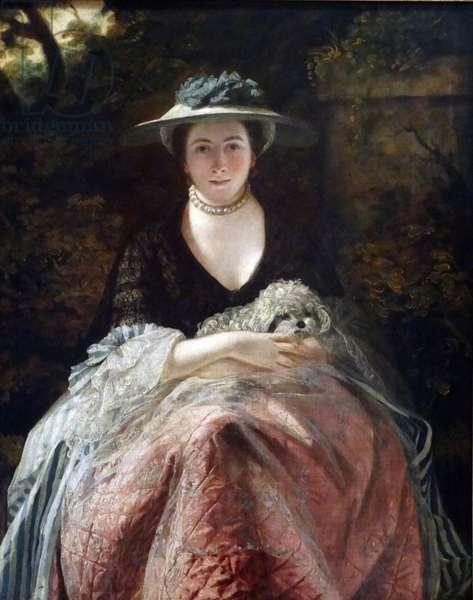 Portrait of Mrs Carnac by Sir Joshua Reynolds