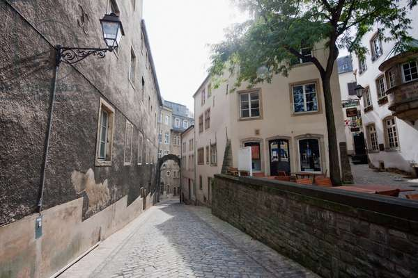 Streets in the Centre, Luxembourg (photo)