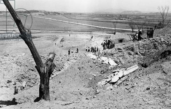 Korean War. July 1951