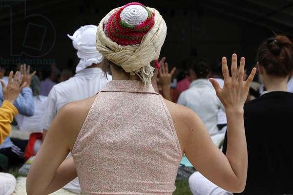 Kundalini Yoga festival (photo)