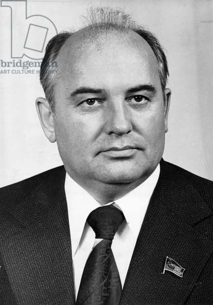 Mikhail Gorbachev, Secretary of the Cpsu Central Committee, December 1978.