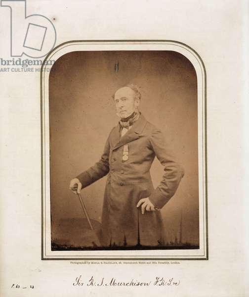 Sir Roderick Impey Murchison, Scottish geologist, 1854-1866